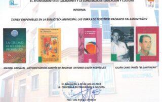NOTA PRENSA AUTORES CALAMONTEÑOS (2)
