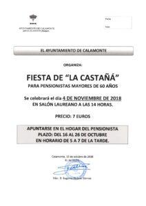 NOTA DE PRENSA CASTAÑÁ