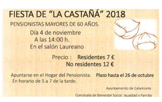 cartel CASTAÑÁ
