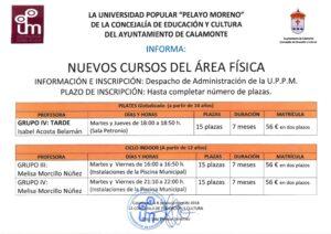 Nota de Prensa. Nuevo curso <a href=