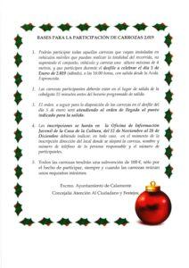 BASES PARA LA PARTICIPACIÓN DE CARROZAS NAVIDEÑAS_001