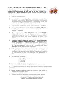 BASES PARA EL CONCURSO DEL CARTEL DE CARNAVAL 2019_001