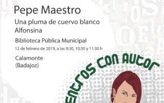 Cartel_EncuentroconAutor_Calamonte (1)