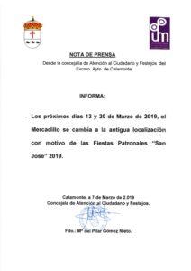 NOTA DE PRENSA CAMBIO MERCADILLO_001