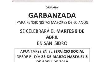 NOTA PRESA GARBANZADA