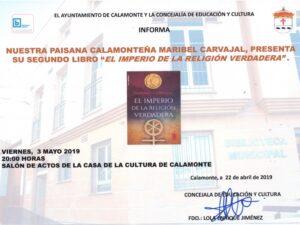 Nota de prensa presentación libro Maribel Carvajal