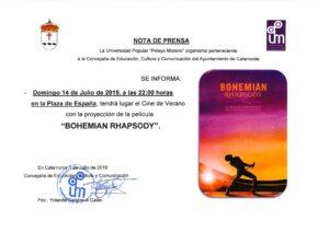 NOTA DE PRENSA BOHEMIAN RHAPSODY_001