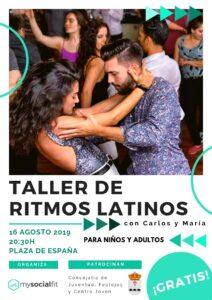 TALLER RITMOS LATINOS