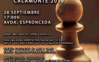 cartel II Torneo Ajedrez en la Calle