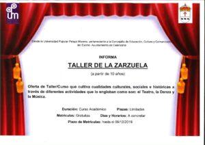 Nota de Prensa Taller Zarzuela._001