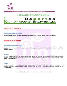 AGENDA DEPORTIVA PEDRO1