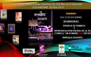 CERTAMEN TEATRO ENTREGA DE PREMIOS 2019