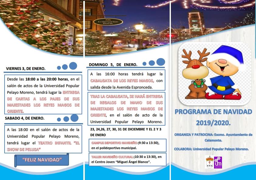 Triptico sobre la actividades de Navidad1