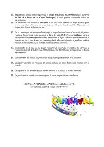 BASES PARA EL CONCURSO DE CARROZAS 2020 2