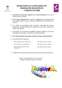 BASES PARA EL CONCURSO DE DISFRACES INFANTILES-1