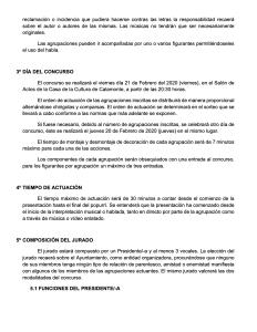 Bases concurso chirigotas y comparsas infantiles del carnaval calamonte 2020 2
