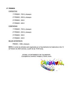 Bases del concurso de chirigotas y comparsas adultas del carnaval calamonte 2020 5