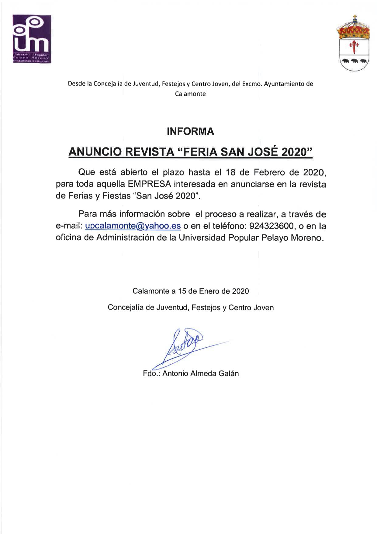 Nota de Prensa Anuncios Empresas