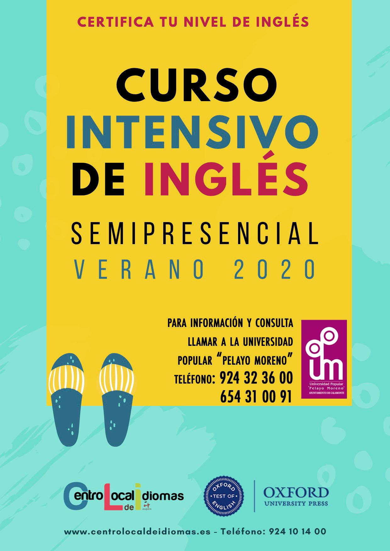 CARTEL INTENSIVO DE INGLÉS VERANO 2020(1)